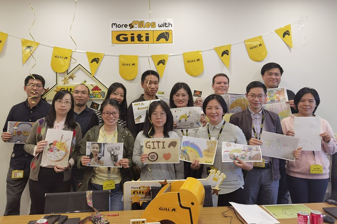 Digital and In-Person Activities Highlight Giti's Anniversary Day