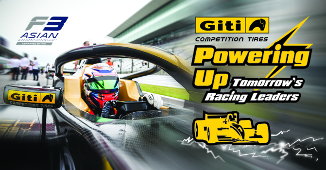 Giti Powers Up Tomorrow's Racing Leaders as Formula 3 Asian Series Nears 2019 Finale