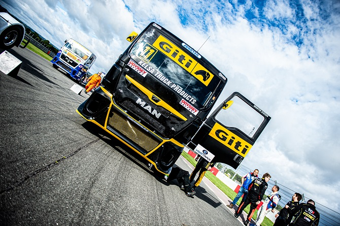 Giti Celebrates Short But Successful Truck Racing Season