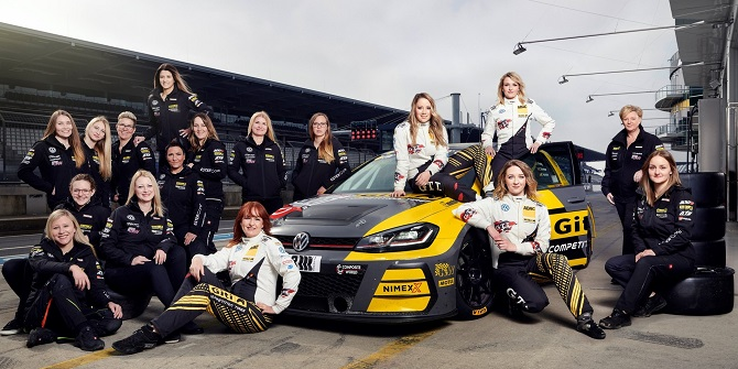 In The Spotlight - Meet the Coach & Crew of Giti's 'Girls Only' All-Female Team