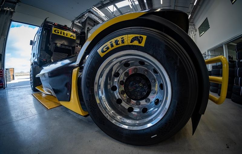 Giti Tire Truck Racing Secures Four Podium Finishes at 2020 Debut in Germany