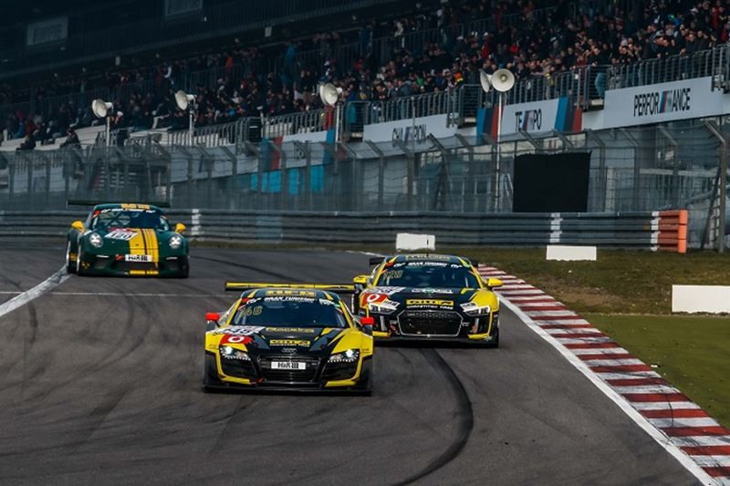 Giti's High-Powered Audi R8 Duo Set to Impress at 24 Hours Nürburgring Race