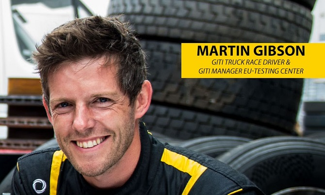 In the Spotlight with Giti Competition Truck Driver - Martin Gibson
