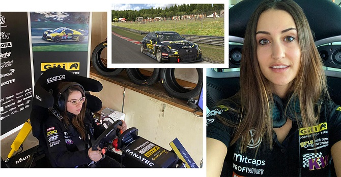 Going Digital: Giti's All Female Team Highlights Successful Sim-Racing Action