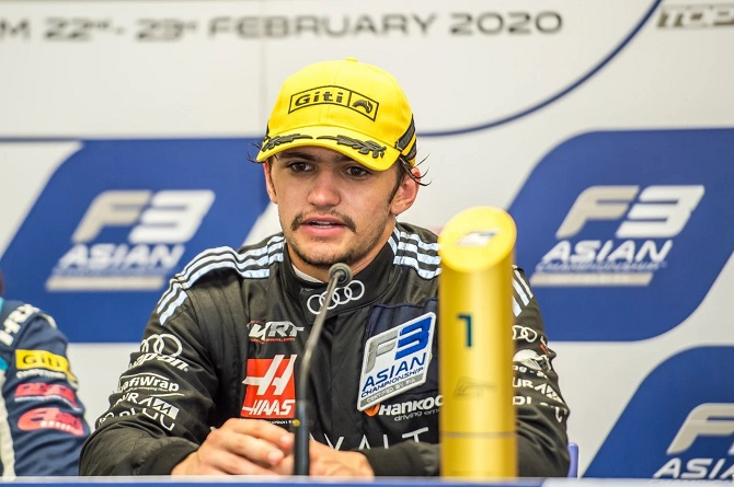 Giti F3 Asia Series Alumnus Pietro Fittipaldi to Make F1 Debut