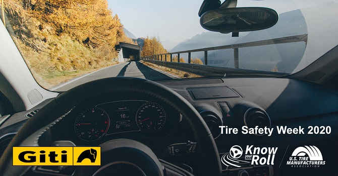 Giti Supports USTMA in Promoting Tire Safety Week