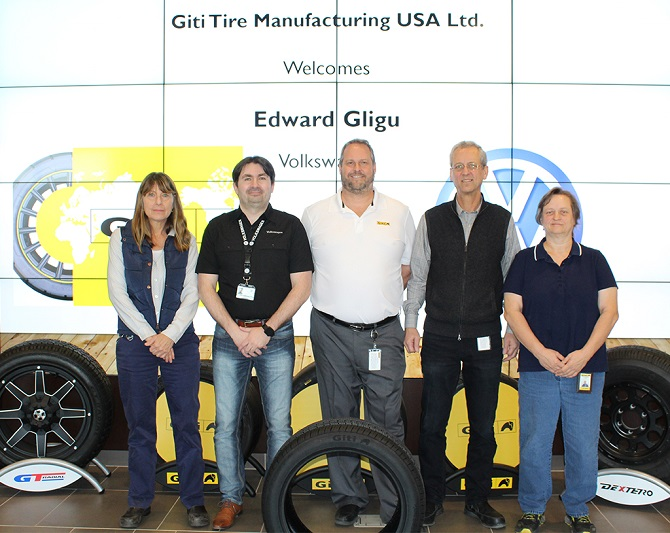 Giti's USA Plant Completes Audit to Supply Tires to Volkswagen