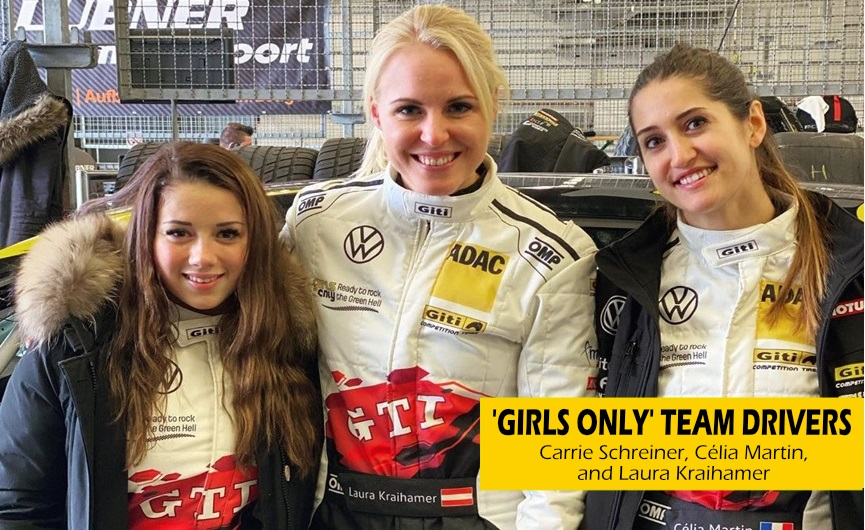 In The Spotlight - Meet the Drivers of Giti's 'Girls Only' All-Female Team