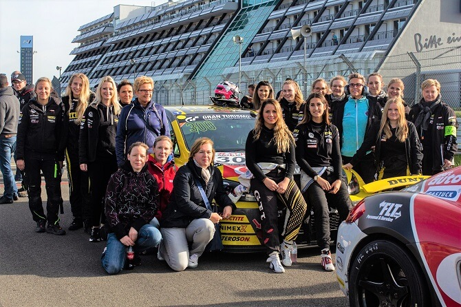 Giti's Groundbreaking All-Female Racing Team Announces 2020 Return