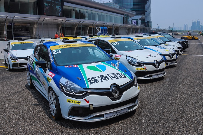 Giti Tire Drives Formula Renault and Clio Cup Challenges for 5th Year