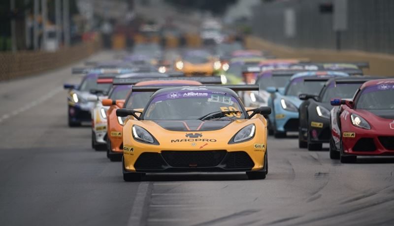 Giti Tire Drives Lotus Cup Racers at 2018 Macau Grand Prix