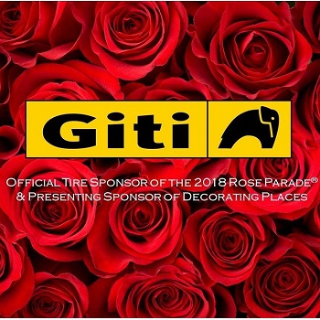 Giti Tire Kicks off the New Year in Style as Rose Parade Sponsor